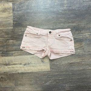 Victoria's Secret Pink Cheeky Jean Shorts Size 4